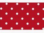 ПЛЕНКА САМОКЛЕЮЩАЯ 45Х2М Кружочки красные (20) DELUXE