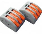 GENERAL СМК-413 клеммная колодка с рычагом 3х(0,08-2,5мм2) (цена за 1шт., уп 50) тип WAG О 800482