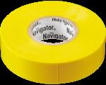 Изолента ПВХ 15мм (рул.20м) желт. NIT-B15-20/Y Navigator 71105