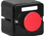 """Пост кнопочный ПКЕ-222/1 """"Стоп"""" красн. гриб. Электродеталь ПКЕ-222/1.1К.С.Гр"""